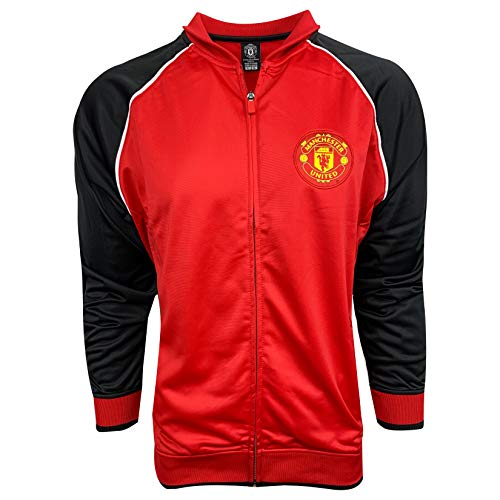 (Manchester United FC Red Jacket (Adult Sizes) Official Track Jacket (X-Large))