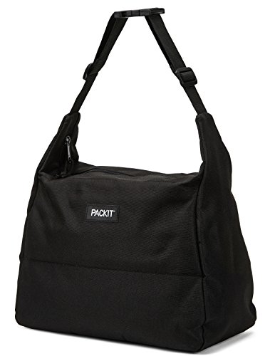 Buckle Large Hobo (PackIt Freezable Hobo Lunch Bag, Black)