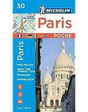 Carte ville de Paris Plan poche 5