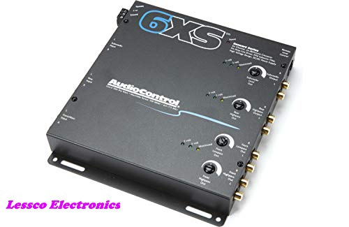 AudioControl 6XS Black 6 Channel Electronic Crossover ()
