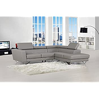 Sectional Sofa Set Right Facing Chaise Modern Sectional Sofa Set Grey  sc 1 st  Amazon.com : modern couch with chaise - Sectionals, Sofas & Couches