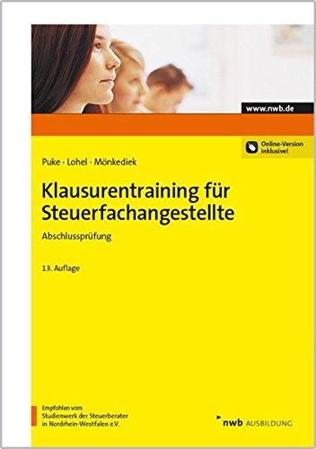 Klausurentraining für Steuerfachangestellte - Abschlussprüfung