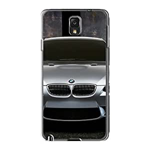 Defender Cases With Nice Appearance (silver Bmw M3 Concept Front) For Galaxy Note3