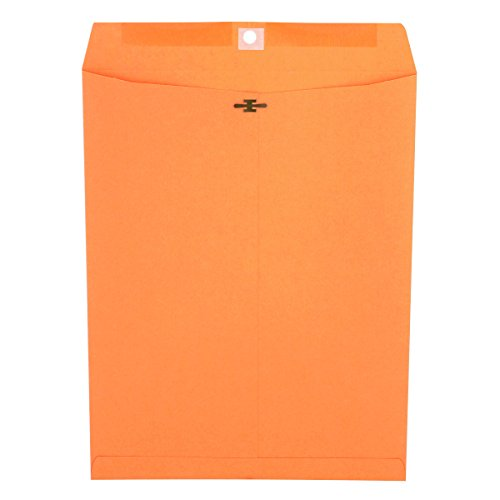 (Universal 44907 Kraft Clasp Envelope, Center Seam, 32lb, 10 x 13, Brown Kraft (Box of 100))