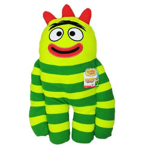 Pillow - Yo Gabba Gabba - Brobee Cuddle Cushion New Gift Toys   B004G205LC
