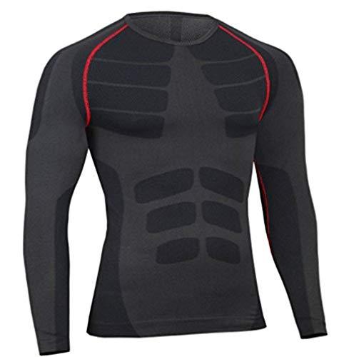 なすもっともらしいヤング高品質 メンズ オールシーズン スポーツシャツ 胸筋 筋トレ 筋肉 機能性 骨盤矯正 姿勢矯正 抗菌 防臭 短袖ウエア軽く快適通気性透気急速乾燥服