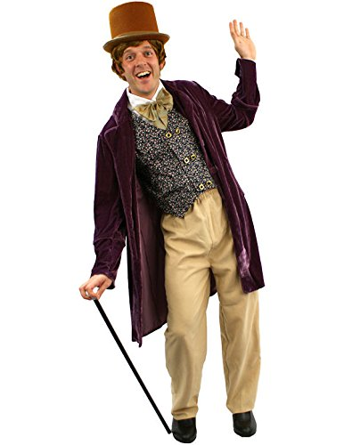 Victorian Men's Clothing, Fashion – 1840 to 1900 Adult Chocolate Man Costume $61.39 AT vintagedancer.com