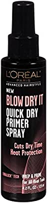 L'Oréal Paris Advanced Hairstyle BLOW DRY IT Quick Dry Primer Spray, 4.2 fl. oz.