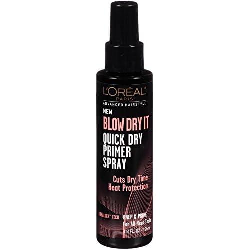 L'Oréal Paris Advanced Hairstyle BLOW DRY IT Quick Dry Primer Spray, 4.2 fl. oz.