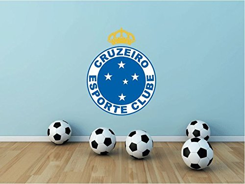 fan products of Cruzeiro Esporte Clube Brazil Soccer Football Sport Art Wall Decor Sticker 25