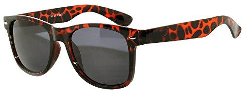 Leopard Vintage Sunglasses - Retro vintage Leopard Brown Lens Sunglasses
