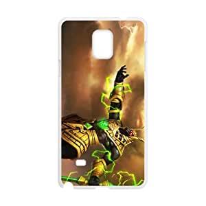 Samsung Galaxy Note 4 Cell Phone Case White Nasus league of legends 005 IX7627954