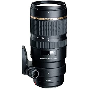 Tamron SP 70-200MM F2.8 DI VC USD Telephoto Zoom Lens for Nikon (Model A009N) - International Version (No Warranty)