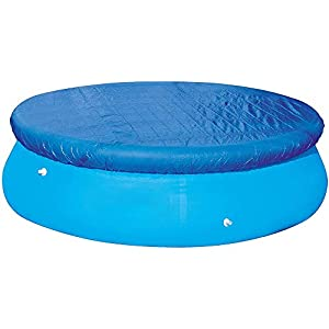 LMTXXS – Cubierta para piscina, cubiertas para desagües para bloquear las hojas, instalación fácil, antipolvo, resistente a la lluvia, duradera, Diámetro: 183 cm.
