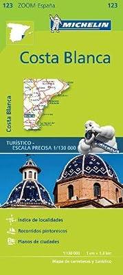 Mapa Zoom Costa Blanca (Mapas Zoom Michelin): Amazon.es: Vv.Aa, Vv.Aa: Libros
