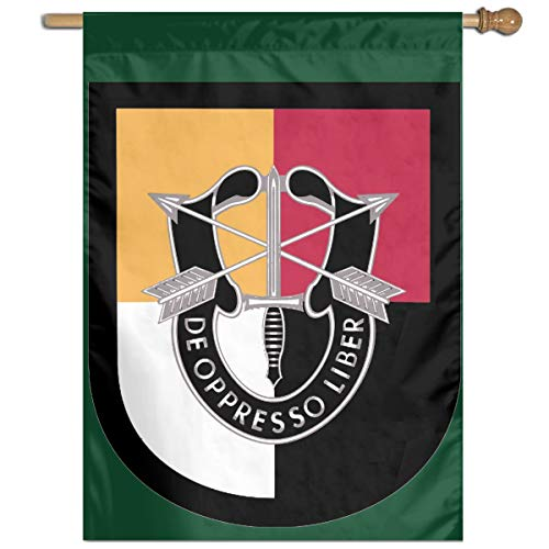 WWCKXFGQZ US Army 3rd Special Forces Group Garden Flag 27 X 37 Inch Size Banner for Party Home Outdoor Decor