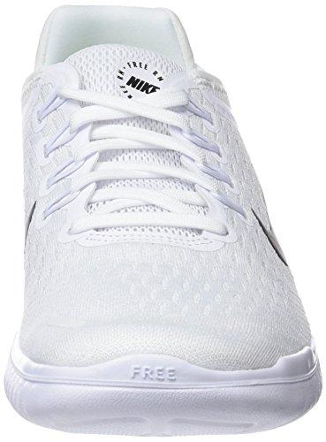 Ginnastica Bianco White Free NIKE Black Scarpe 001 da RN Donna 2018 Basse zSzq8XZ