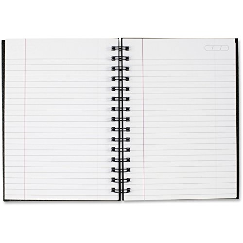 Cambridge(R) Limited(R) Business Notebook, 5 3/16in. x 8 5/16in, 1 Subject, Legal Ruled, 48 Sheets, Black