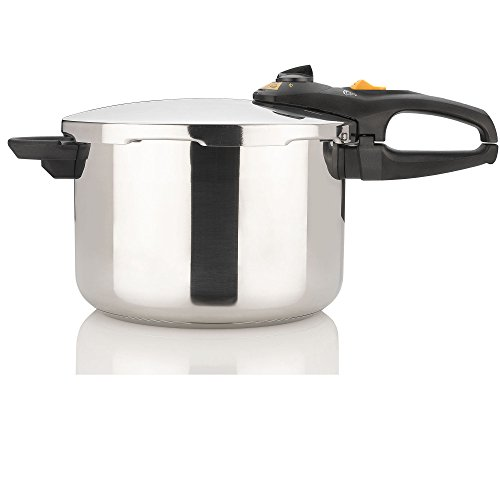 Fagor DUO 8 Quart - Multi-Setting Pressure Cooker and Canner with Accessories, Polished...