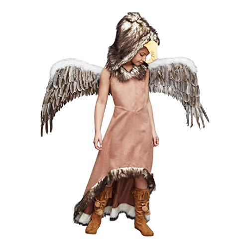 CHASING FIREFLIES Regal Eagle Costume For Girls (Includes Regal Eagle Wings) ()