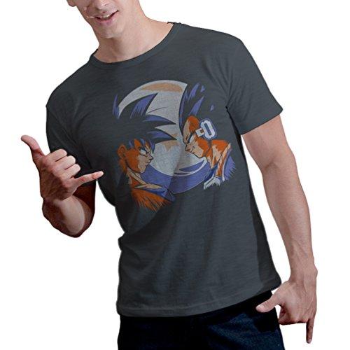 Happyhill Men's Dragon Ball Z - Saiyan Warriors T-Shirt