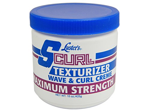Luster's S Curl Texturizer Maximum Strength, 15 Ounce (Best Texturizer For Men)