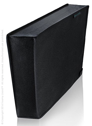 Playstation 4 Dust Cover Vertical by Foamy Lizard ® TexoShield (TM) premium nylon dust guard cover [USPTO PATENT PENDING] for PS4 with back cable port (Vertical)