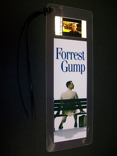 FORREST GUMP movie film cell bookmark Memorabilia Collectible Complements Poster Book Theater