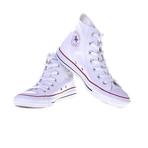 Weiß de Zapatillas Converse para mujer Weiß Piel Optical A1pvq