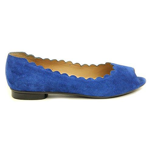 Ballet VANELi Blue Women's French Flat Arty Suede 7xgaqRw