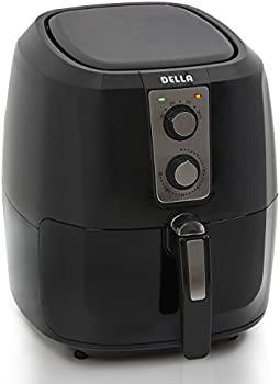 Della XL Electric Air Fryer Button Guard & Detachable Basket