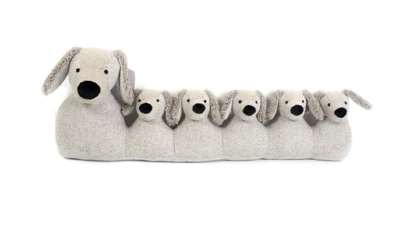 71 cm gris burlete de perro ~ puerta tiro cojín: Amazon.es ...