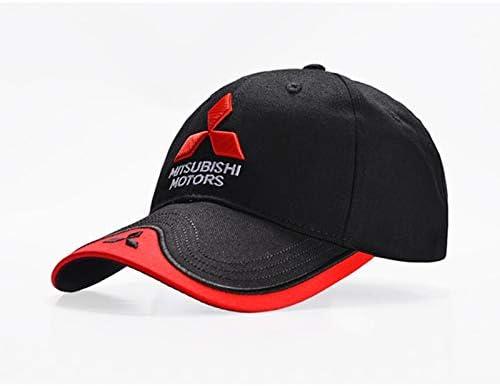 qqyz2323 Gorra De Béisbol Mitsubishi Logo Bordado Casual Snapback ...