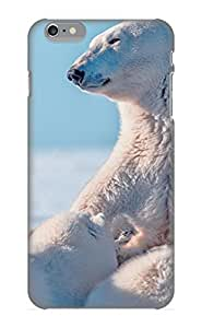 Hot New Animal Polar Bear Case Cover For Iphone 6 Plus With Perfect Design
