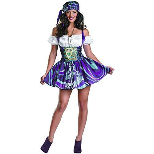 [Ouija Sassy Costume - Medium - Dress Size 8-10] (Pharaoh Adult Mens Plus Size Costumes)