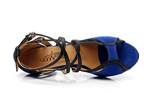 Minitoo - Zapatillas de danza de sintético para mujer azul - azul