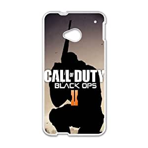 Custom Cover Case Fashion Call of duty Time For HTC One M7 SXSWL947339