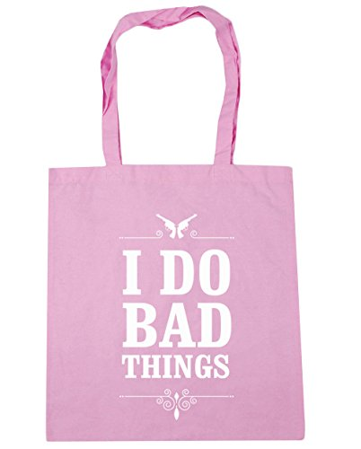 do Gym x38cm Beach litres I things bad 42cm HippoWarehouse Bag 10 Tote Shopping Classic Pink Cx5RBwWqZ