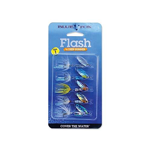 (Blue  Fox WBFF1K5-1   Flash Spinner Kit, 1/8 oz)