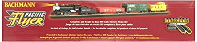 Bachmann Trains Pacific Flyer Ready-to-Run HO Scale Train Set from Bachmann Industries Inc