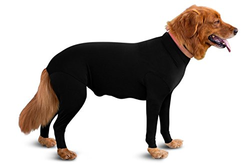 Shed Defender - Dog Onesie/Grooming -Contains The Shedding of Dog Hair, Reduce Anxiety, Replace Medical Cone (Body Suit For Dogs)