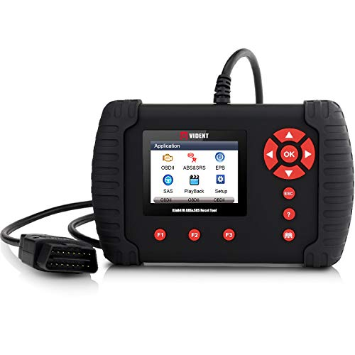 VIDENT iLink410 OBD2 Scanner ABS SRS Airbag Code Reader Diagnostic Scan Tool with Bleed ABS, SAS, EPB