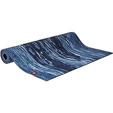 Manduka Unisex eKO Lite Mat 4mm Yoga Mat - Marbled