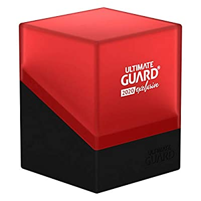Ultimate Guard 2020 Exclusive - Boulder Deck Case 100+, Black/Red: Toys & Games