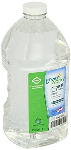 (Green Works Glass & Surface Cleaner - Liquid Solution - 64 fl oz (2 quart) - Clear)