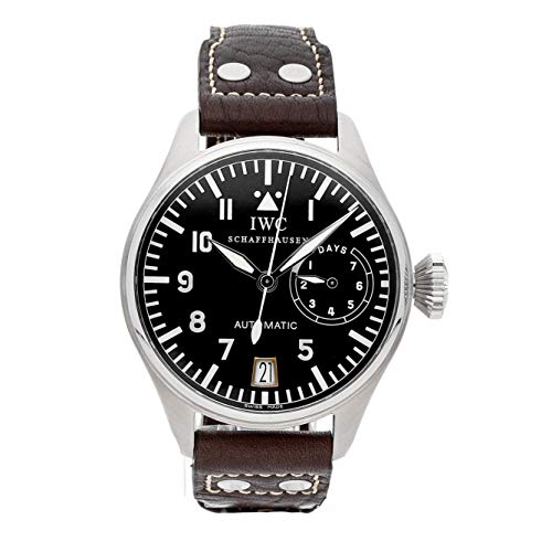 - IWC Pilot Mechanical (Automatic) Black Dial Mens Watch IW5002-01 (Certified Pre-Owned)