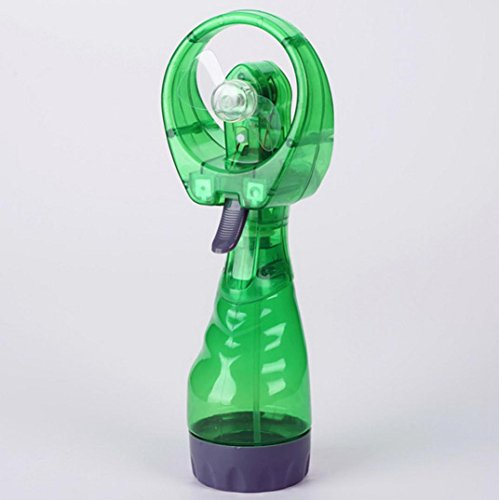 Inverlee New Portable Handheld Cooling Cool Water Spray Misting Fan Mist Humidifier Mist Water Spray Air Condictioning (Solar Evaporative Cooler)