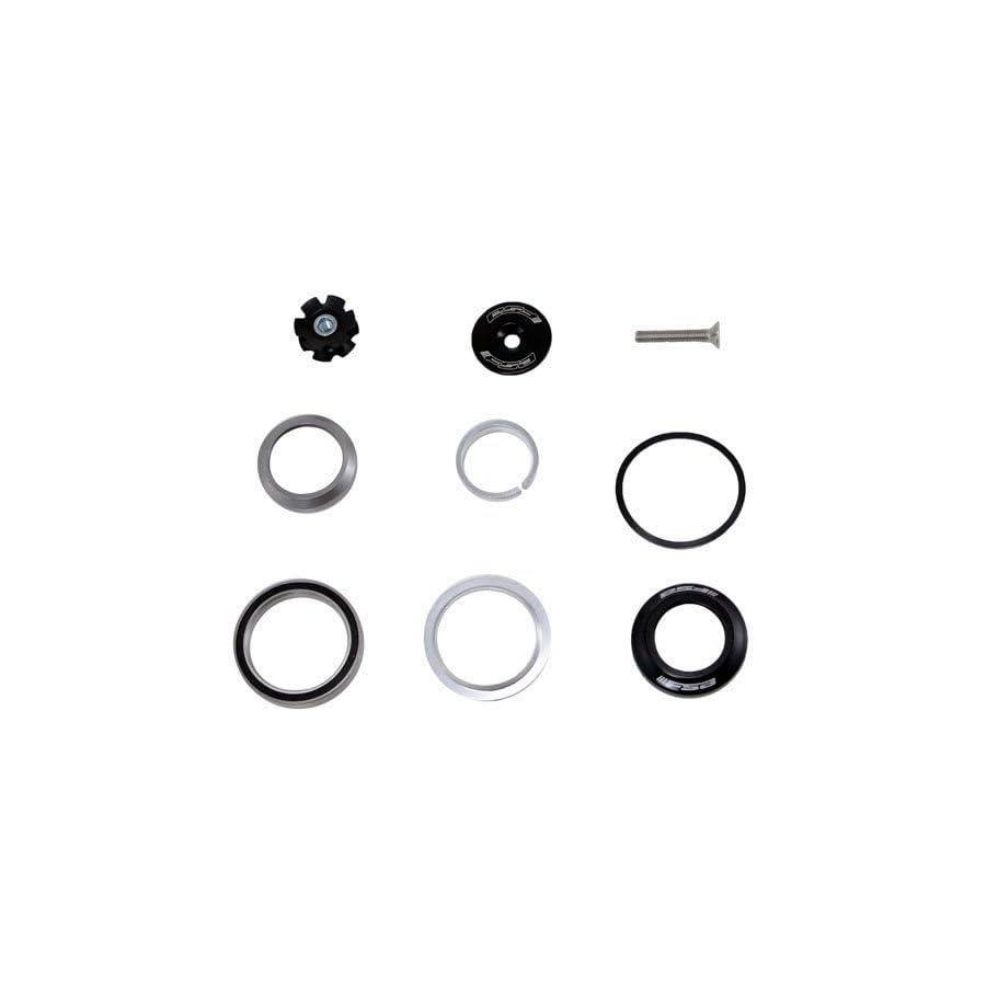 """FSA Orbit C 40 Integrated 1 1/8"""" 1.5"""" ID 42/52 mm Tapered Headset, Black #XTE1511"""