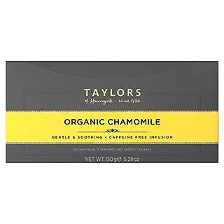 Taylors of Harrogate Organic Chamomile Herbal Tea, 100 Teabags