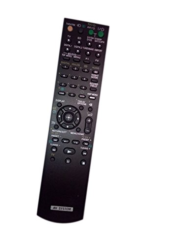 Replaced Remote Control Compatible for Sony SS-MCT100 RM-AAU029 1-4806-181-1 HTFS1 STR-DH100 Home Theater Audio/Video Receiver AV System -  JustFine, LYSB01M7UPYY5-ELECTRNCS